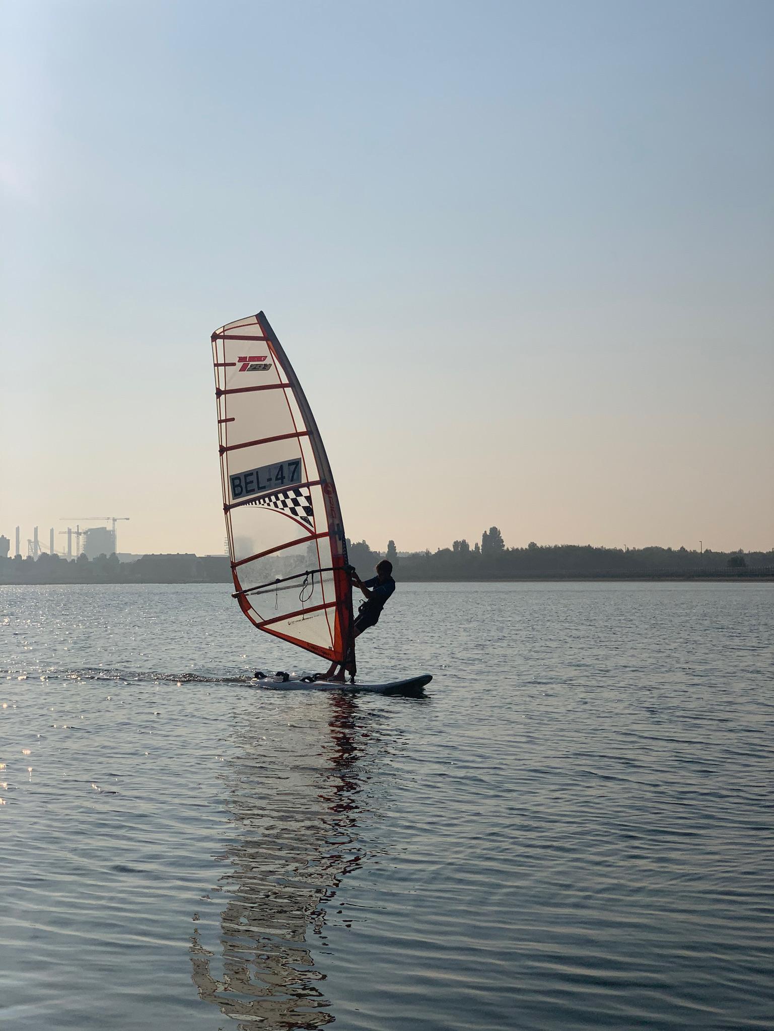 Jeugd windsurfteam